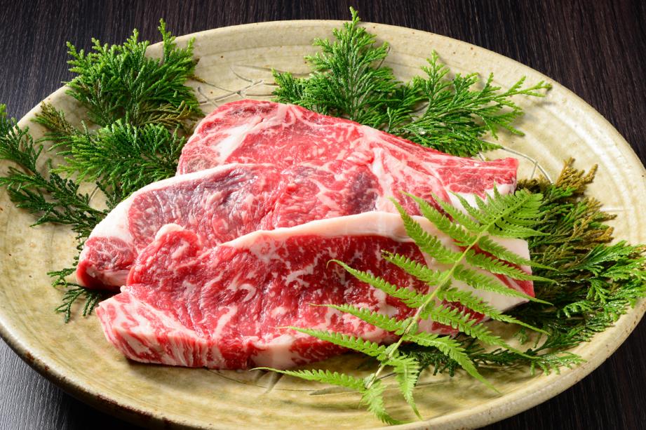 上州牛のステーキプラン☆夕食メインが基本+2,500円(税別)で上州牛にグレードアップ!